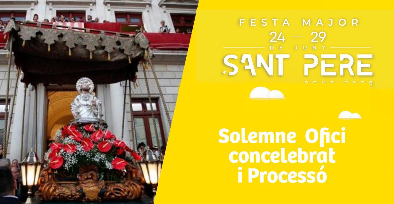 Sant Pere 2020: solemne ofici concelebrat i professó