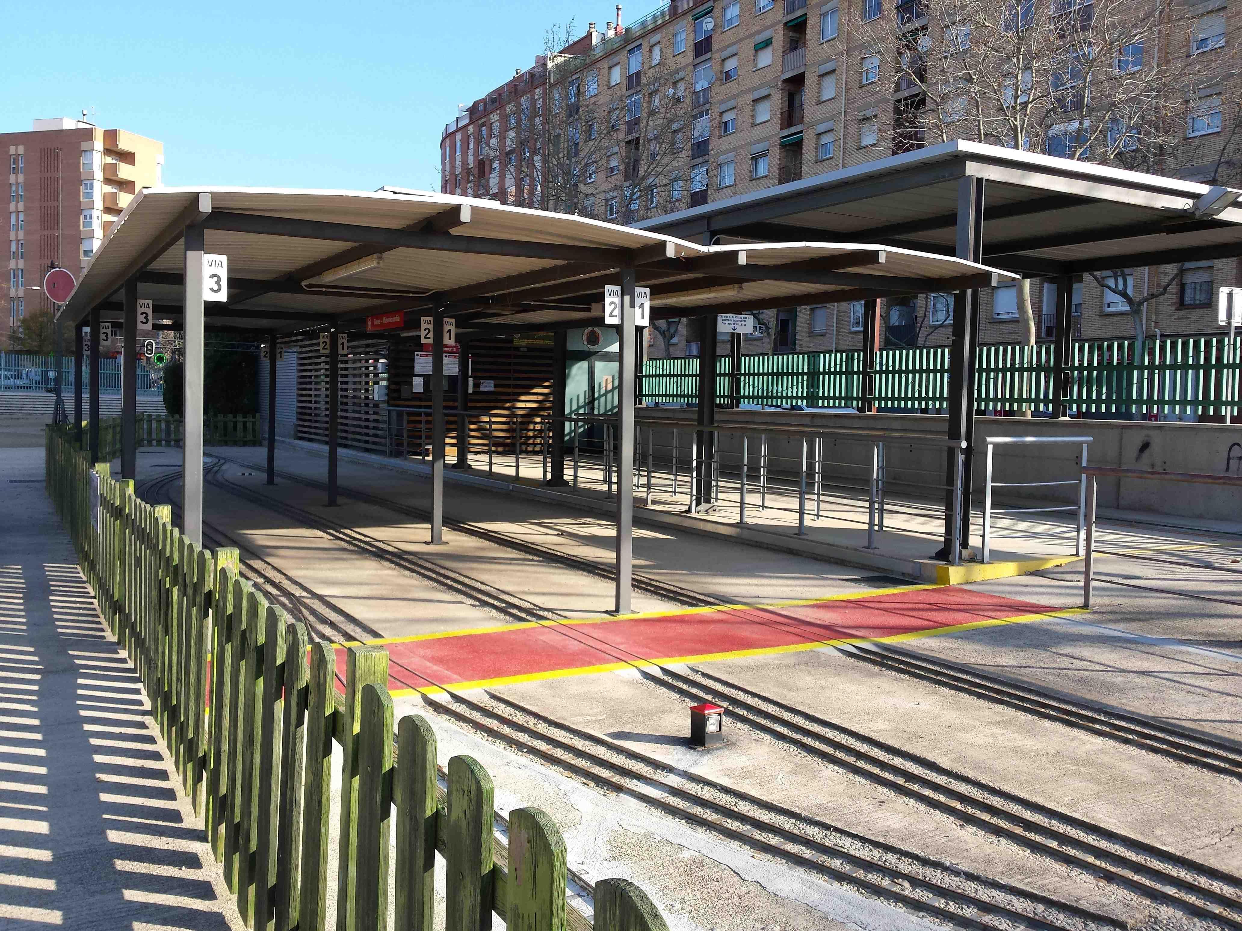 Parc de Nadal al Parc del trenet