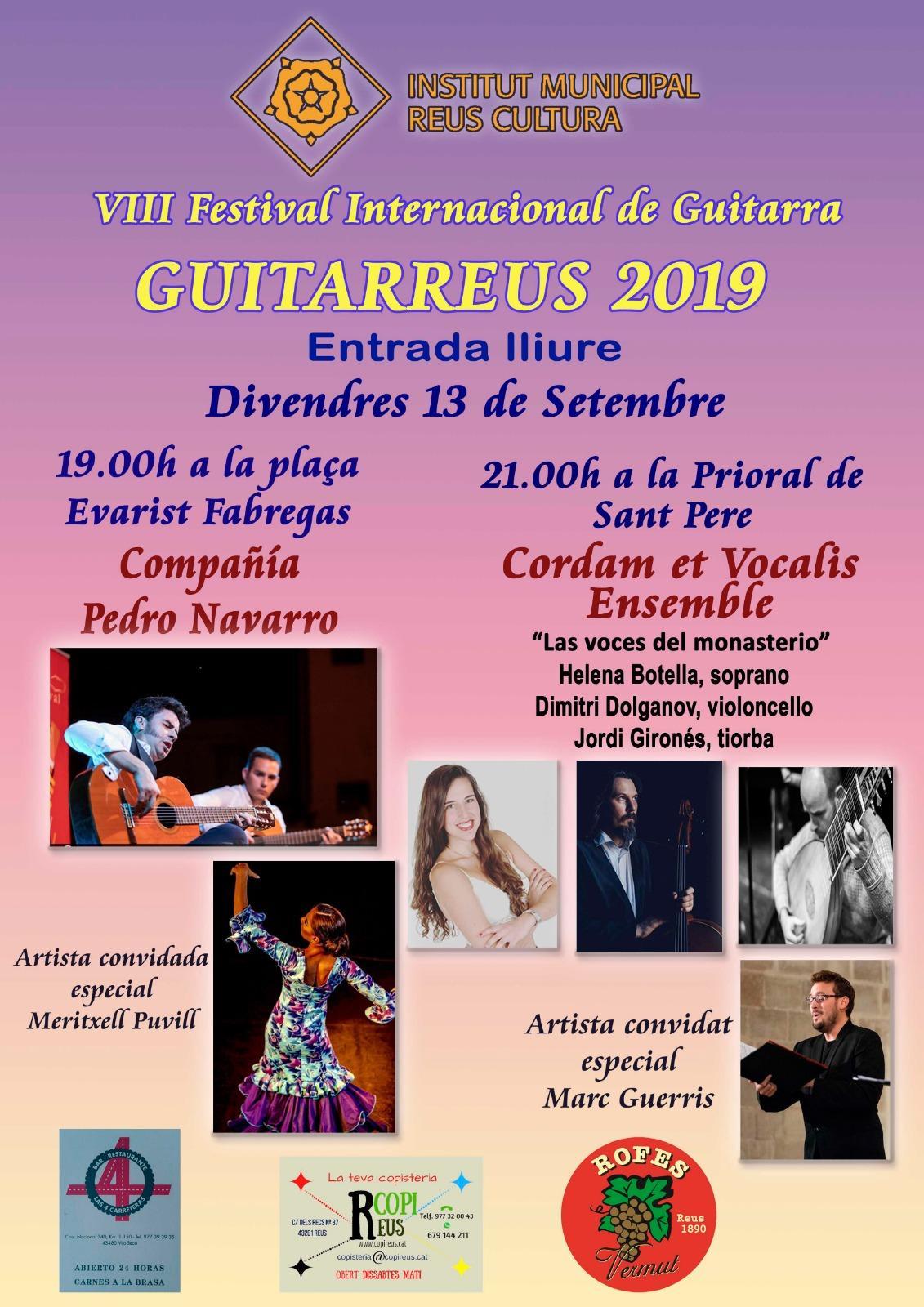VIII Festival Internacional de Guitarra. Concert