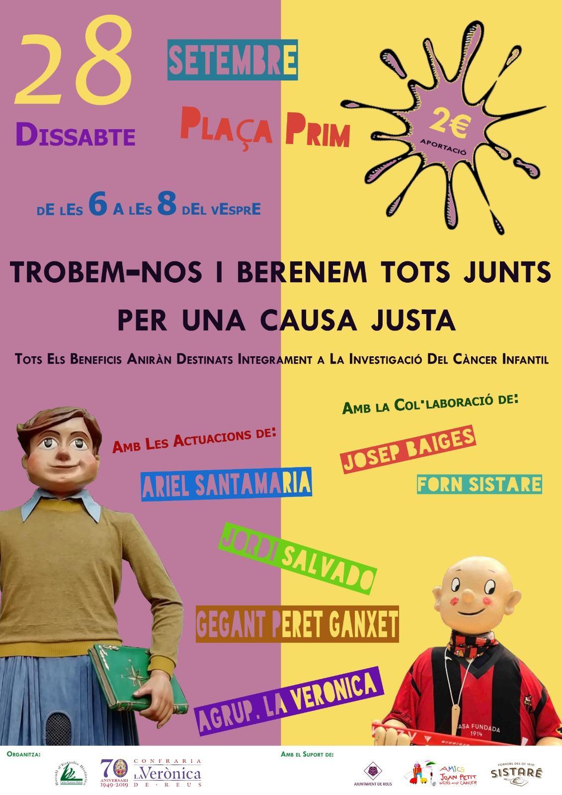 Acte solidari a favor de la Fundació Amics del Joan Petit Nens amb Càncer