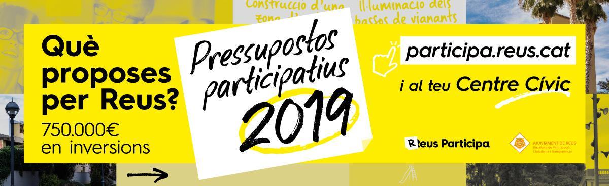 Presentació pública de les propostes finalistes pressupostos participatius 2019