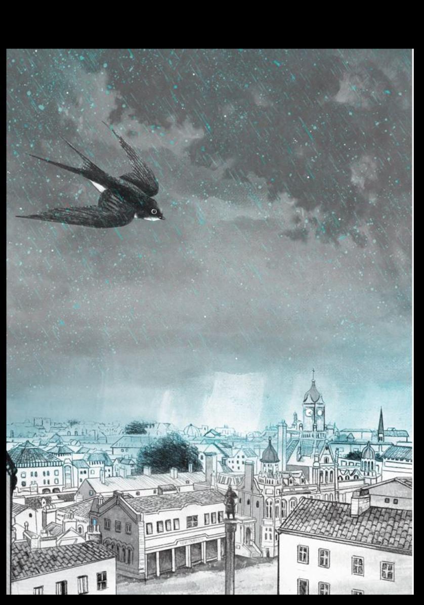 Exposició d'il·lustracions d'Albert Asensio: El príncep feliç i altres contes