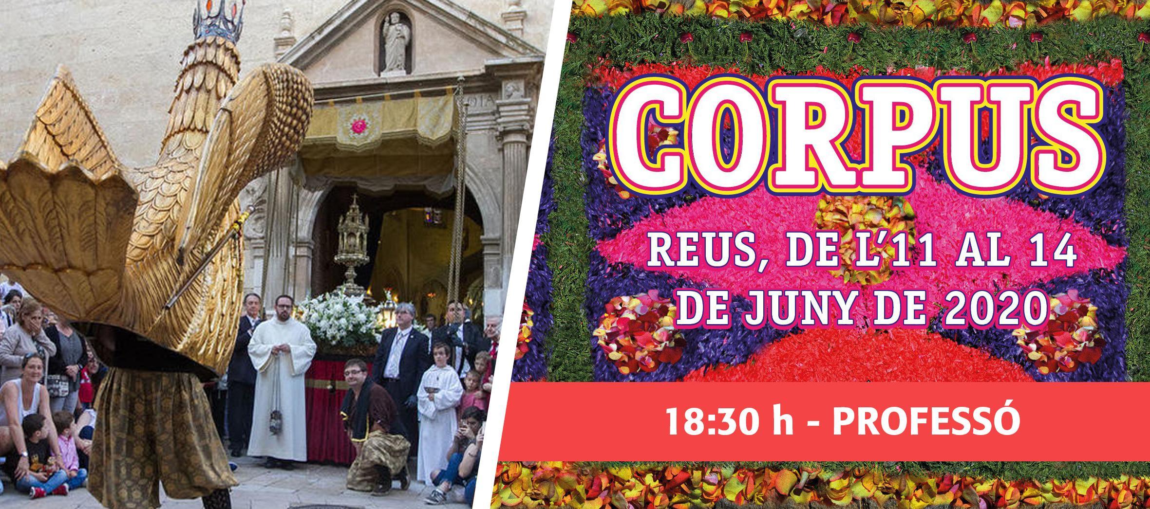 Corpus 2020: Professó de Corpus