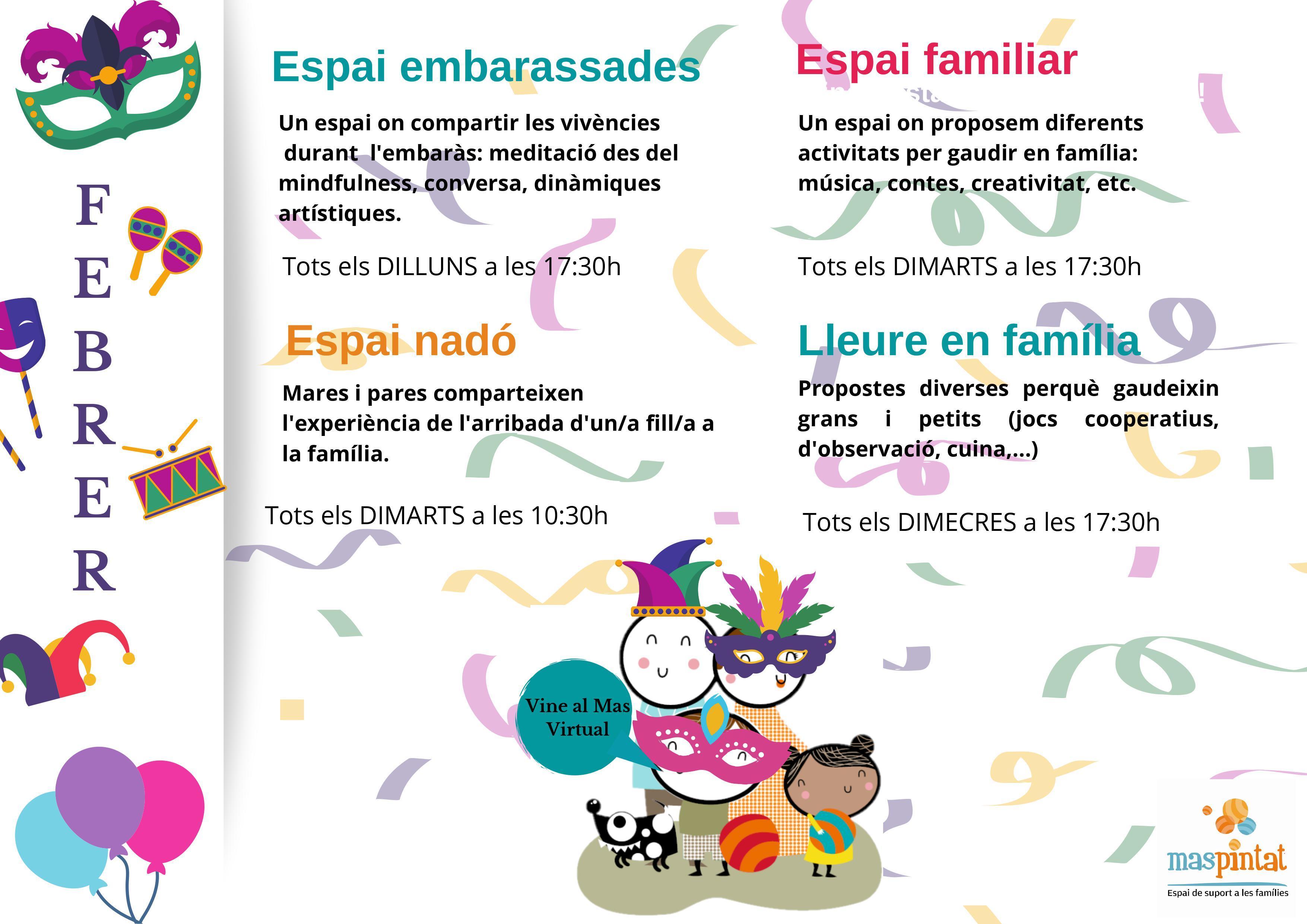 ESPAI VIRTUAL MAS PINTAT FEBRER 2021