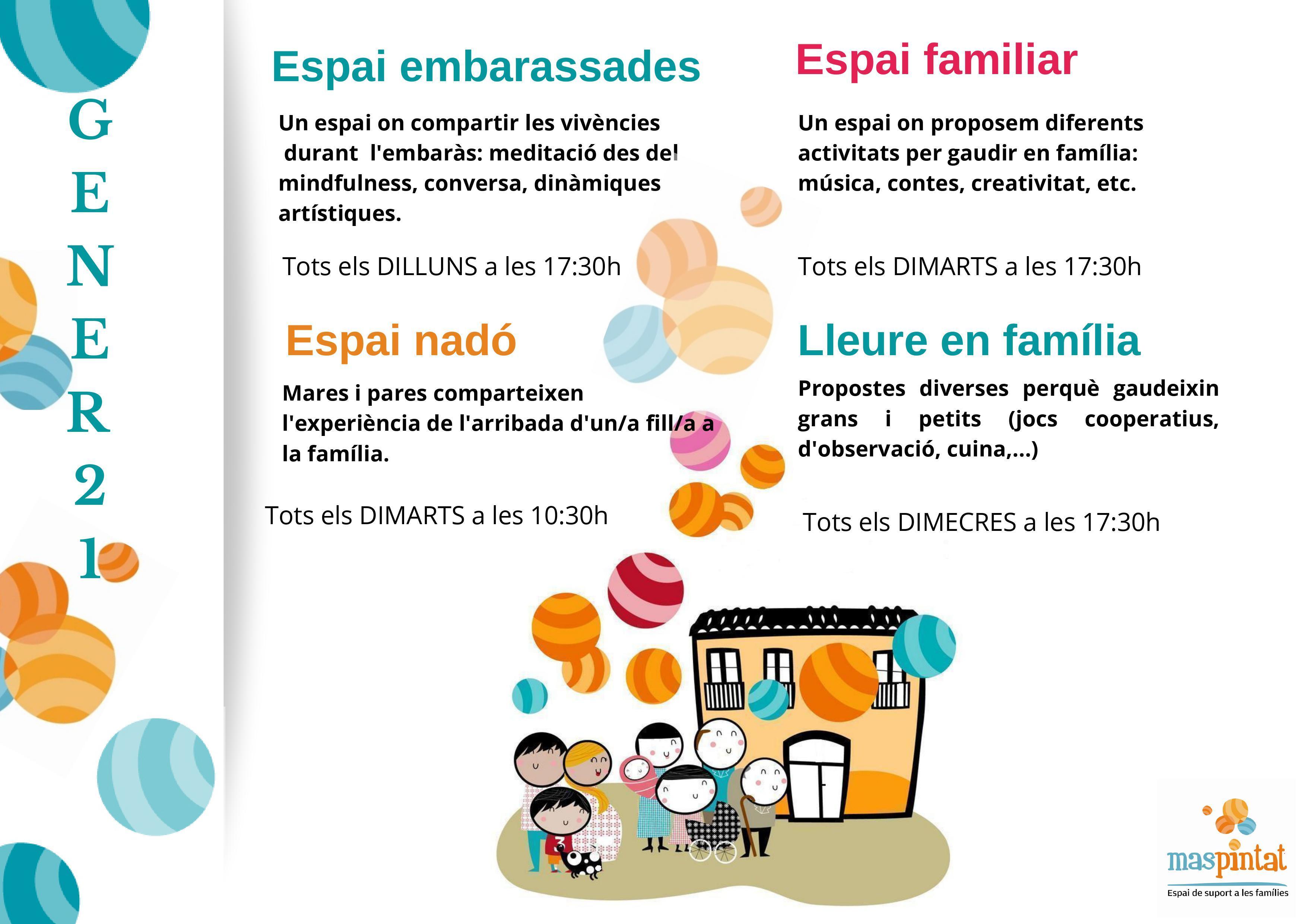 ESPAI VIRTUAL MAS PINTAT GENER 2021