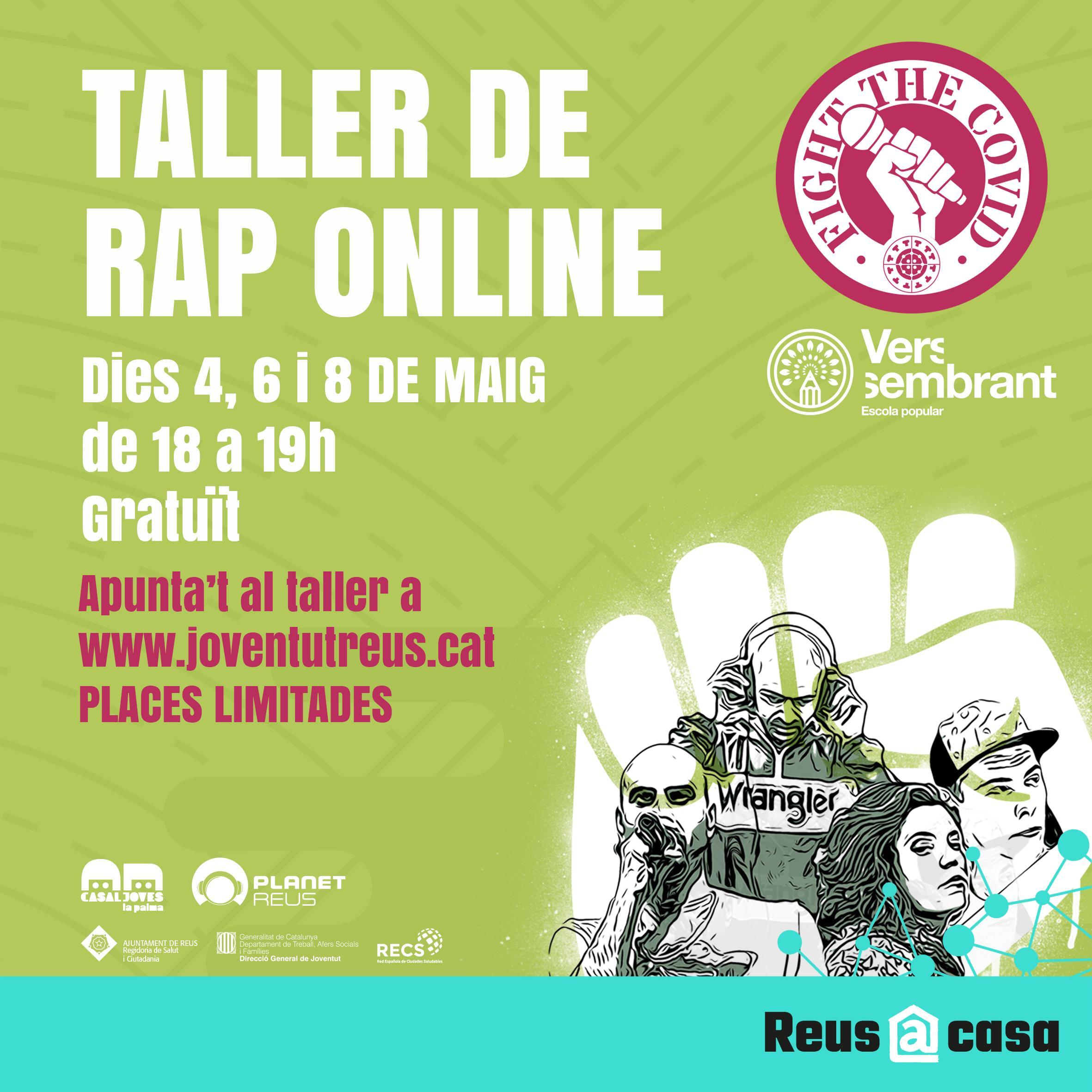 Taller de Rap. Fight the COVID