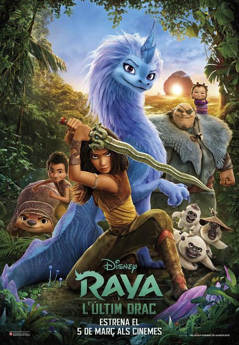 Raya i l'últim drac, dins del Cicle de Cinema en Català (CINC) de Reus