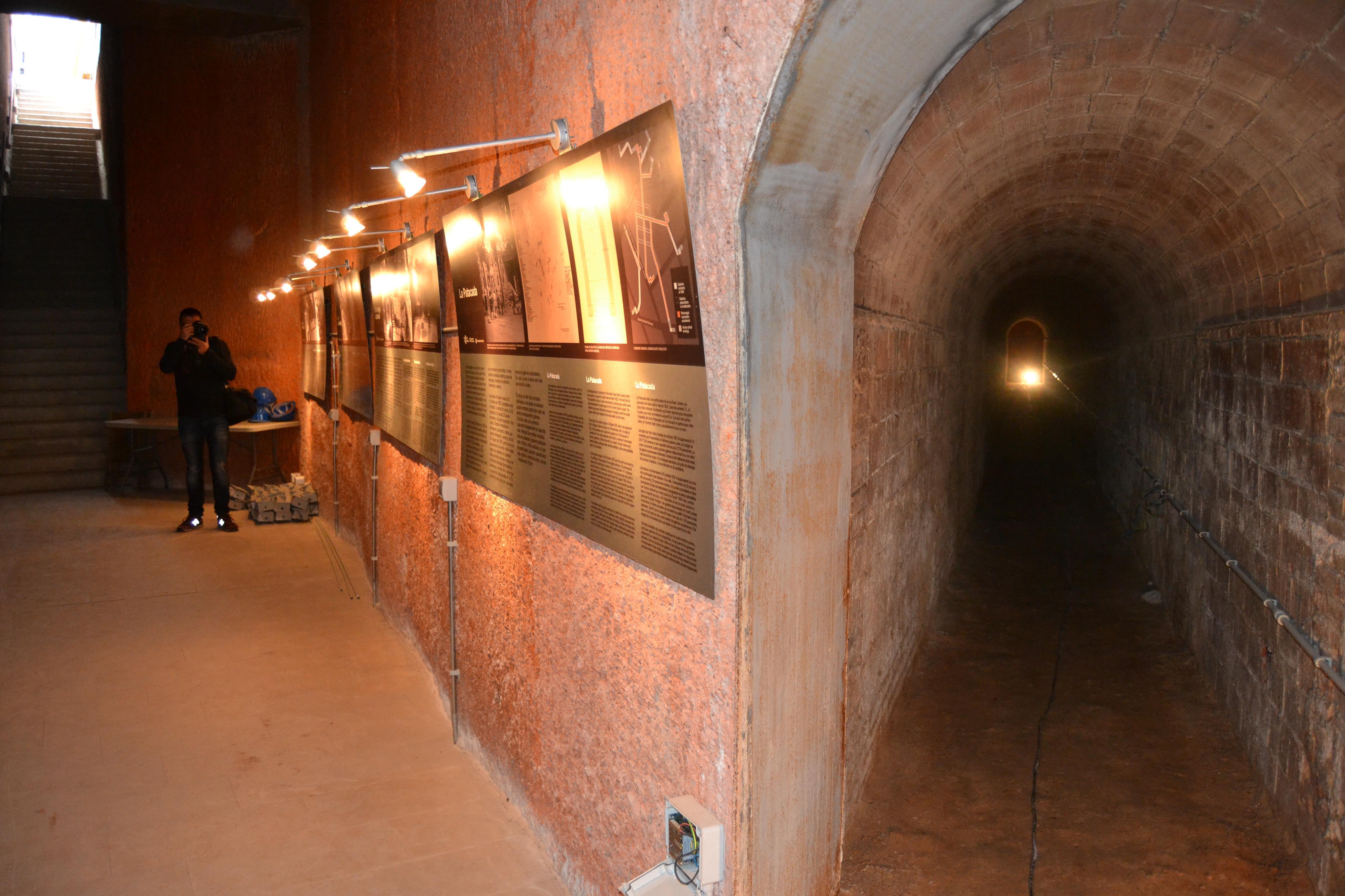 Visita guiada al refugi antiaeri de la Patacada
