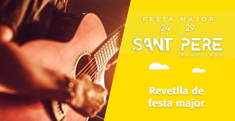 Sant Pere 2020: Revetlla de festa major