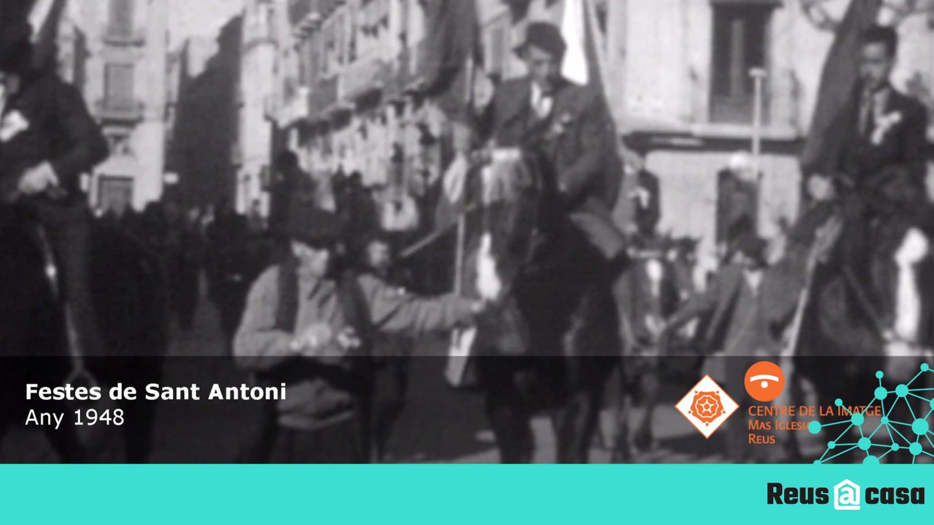Reviure Reus: Processó de Sant Antoni a Reus