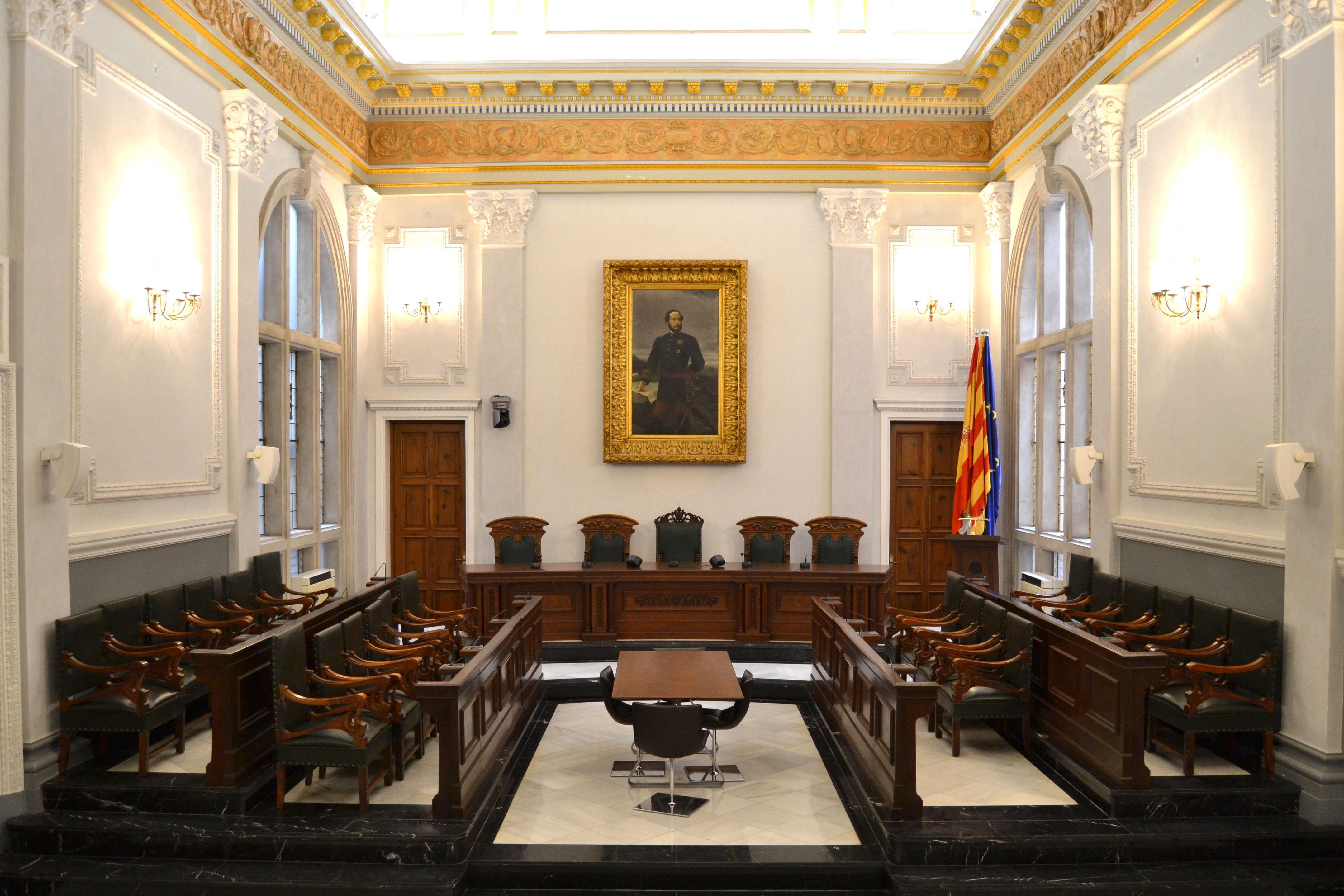 Saló de Plens de l'Ajuntament de Reus