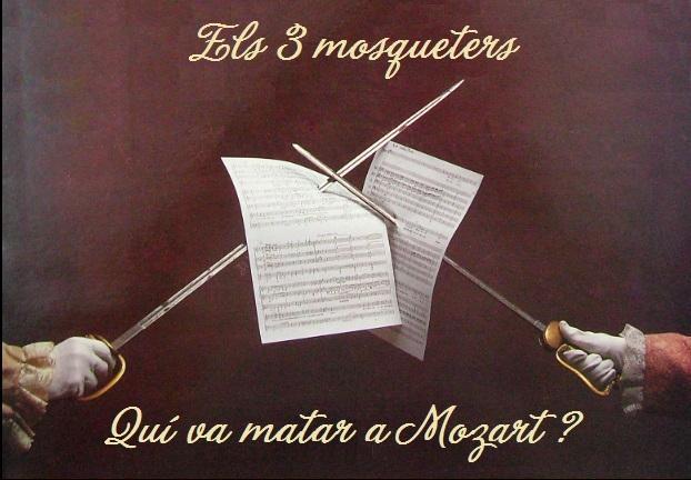 CANVI D'ESPAI - Els tres mosqueters o qui va matar a Mozart? (Projecte Bartrina 2020 - Teatre Bartrina)