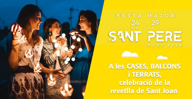 Sant Pere 2020: revetlla de Sant Joan