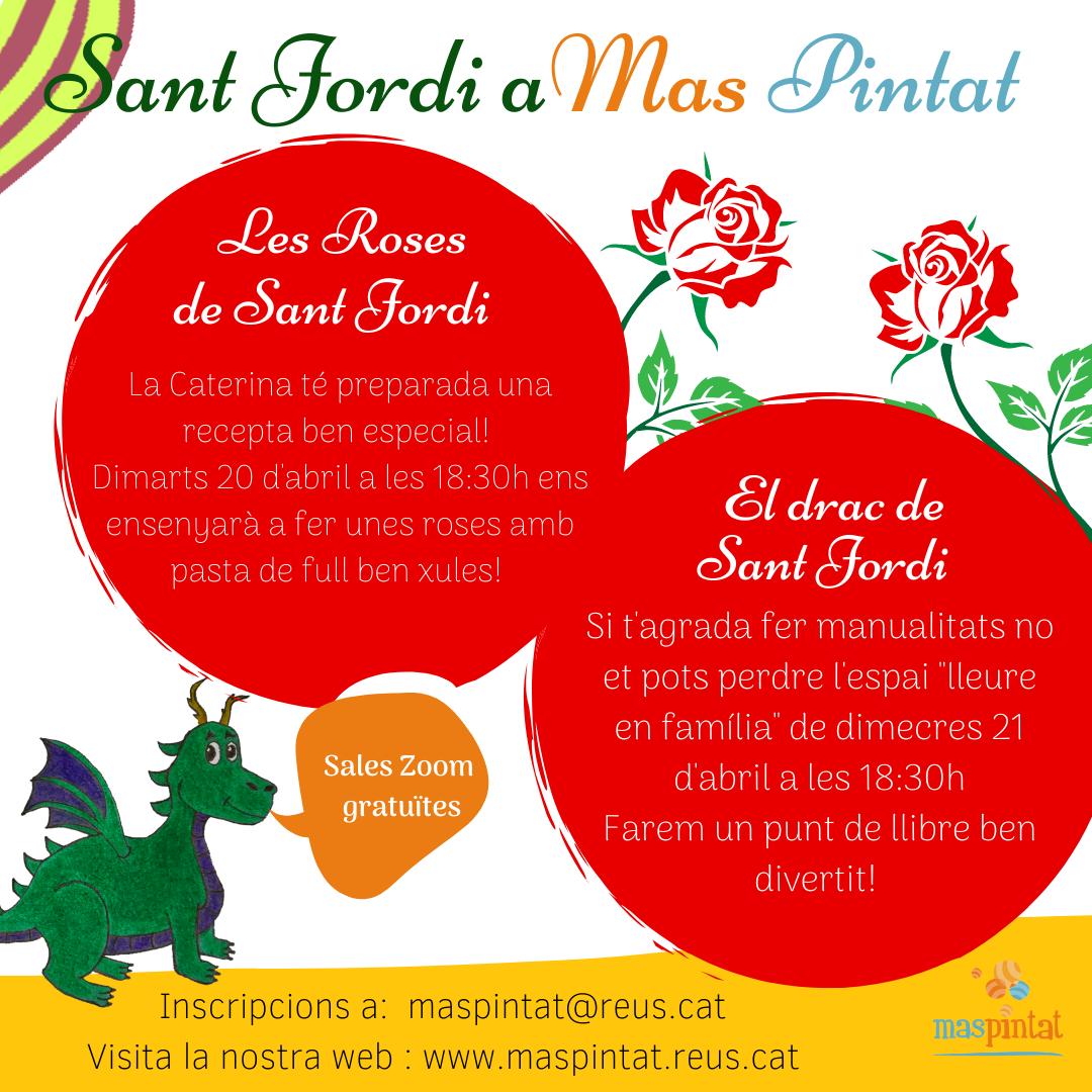 Sant Jordi virtual espais Mas Pintat