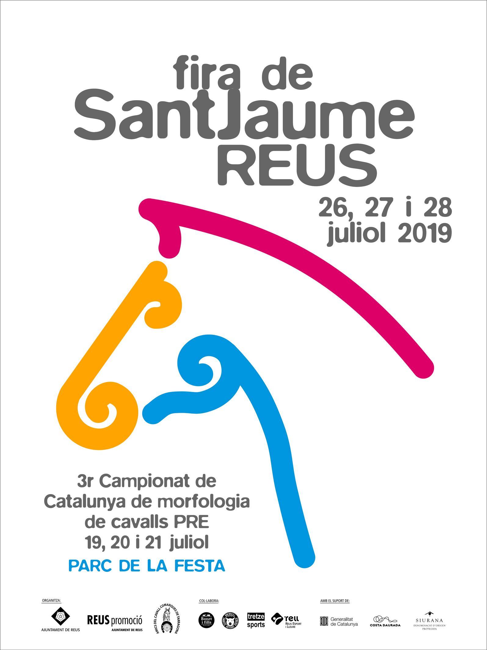 Fira de Sant Jaume. Campionat de Catalunya de Morfologia de Cavalls Pura Raça Espanyola