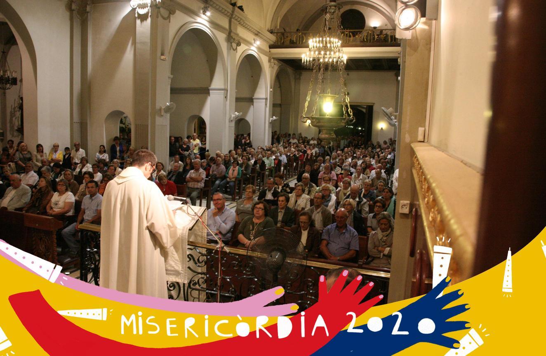 Misericòrdia 2020: missa de la 40a Trobada de Misericòrdies al santuariE