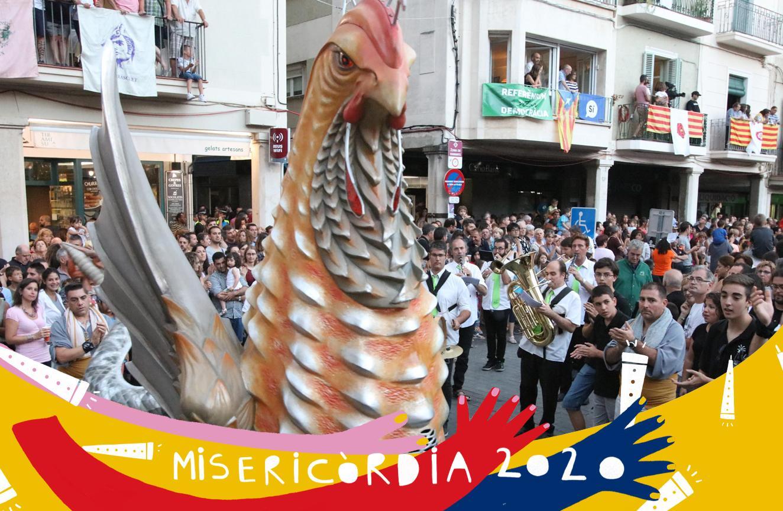 Misericòrdia 2020: actuació de diversos balls i danses del seguici festiu