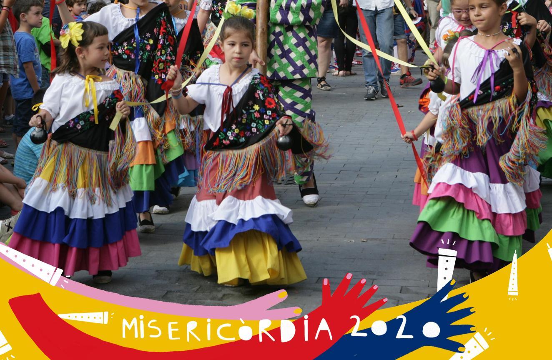 Misericòrdia 2020: actuació de diversos balls i danses del seguici petit