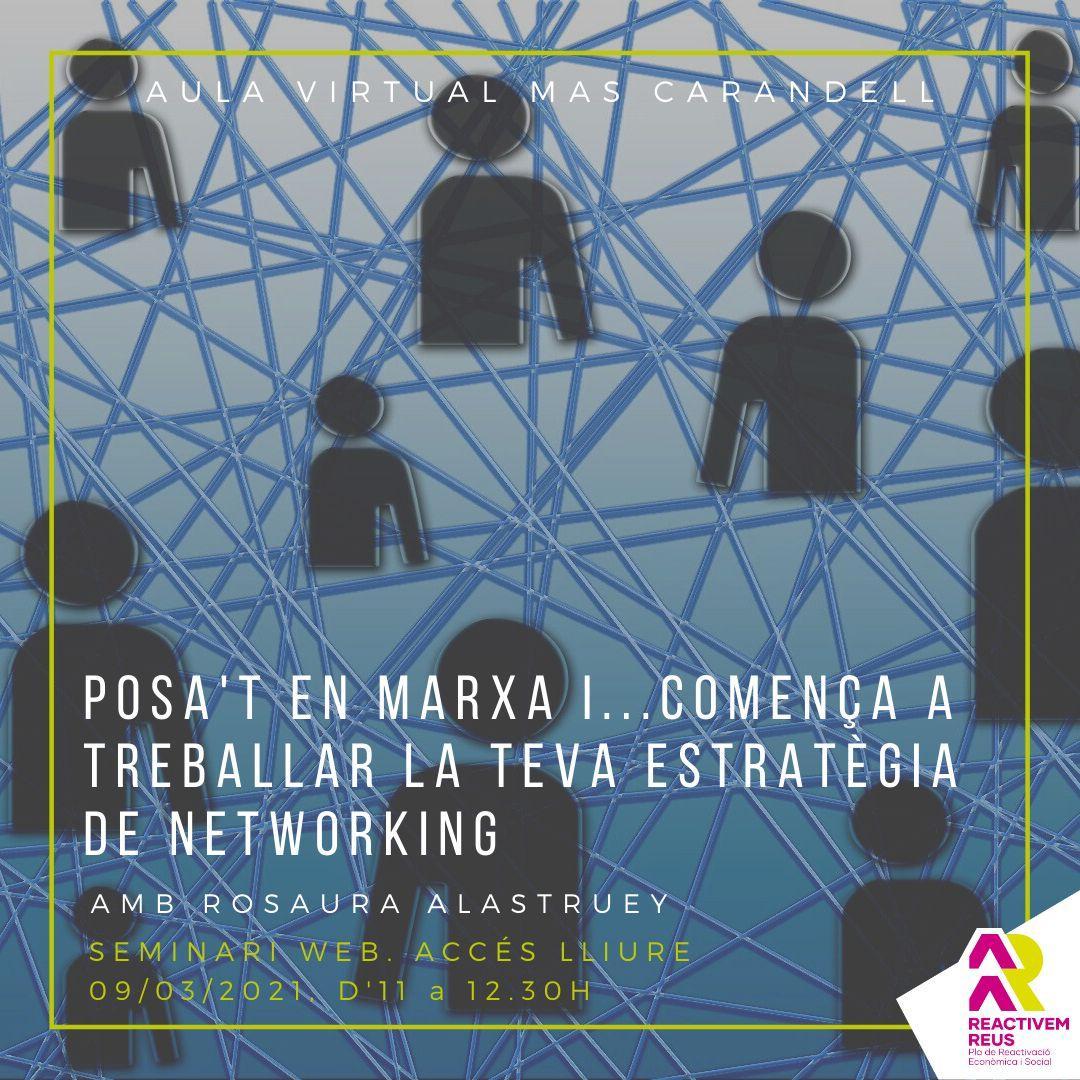 Seminari web: Posa't en marxa i... comença a treballar la teva estratègia de networking