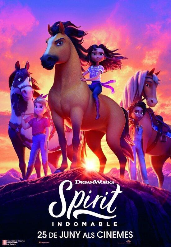 Spirit: Indomable, dins del Cicle de Cinema en Català (CINC) de Reus