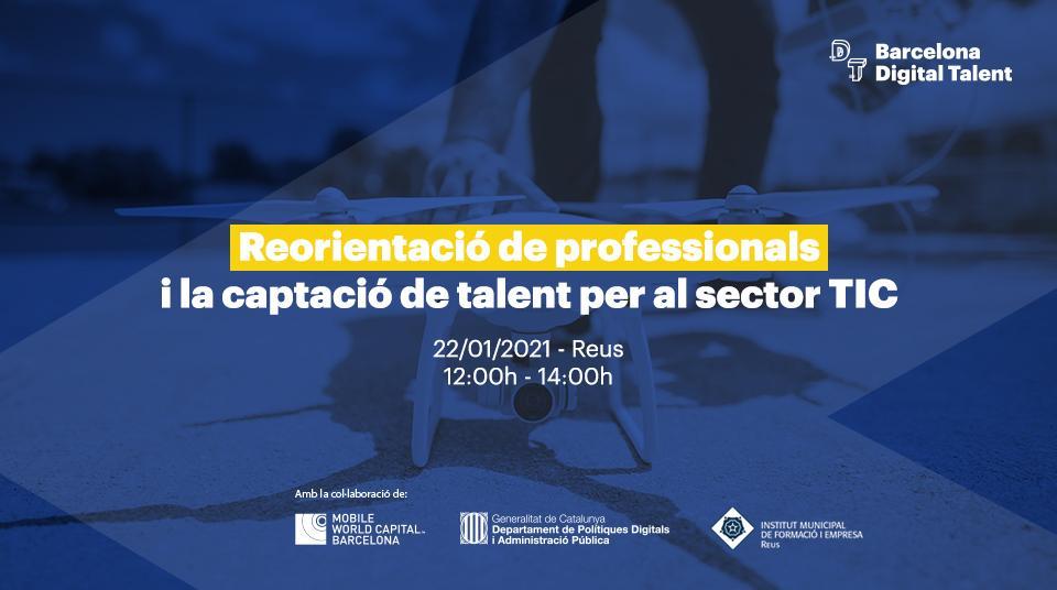 Reorientació de professionals i captació de talent per al sector TIC