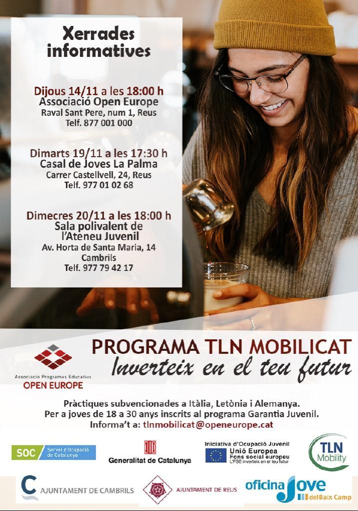 Xerrada informativa del programa TLN MOBILICAT