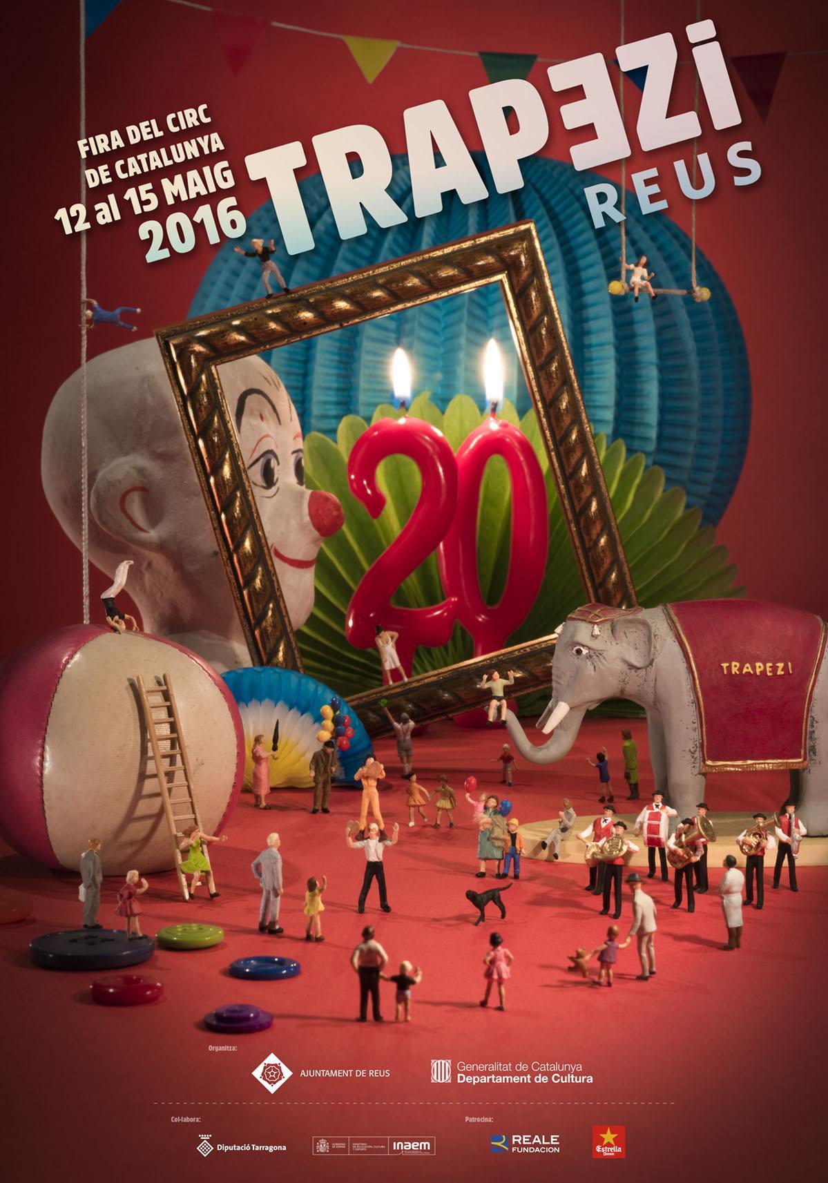 Trapezi. Fira del circ de Catalunya 2016