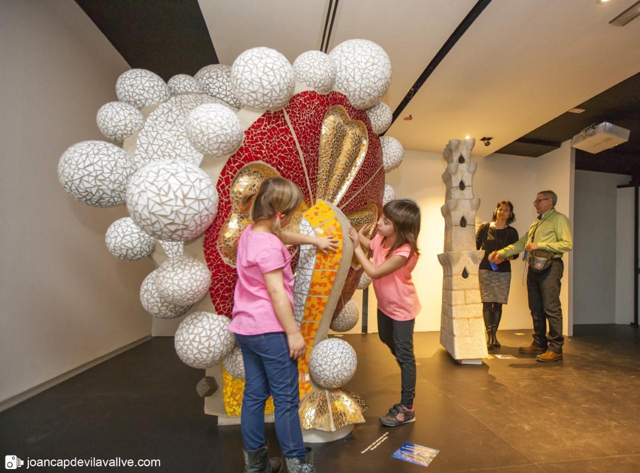 Visita familiar al Gaudí Centre