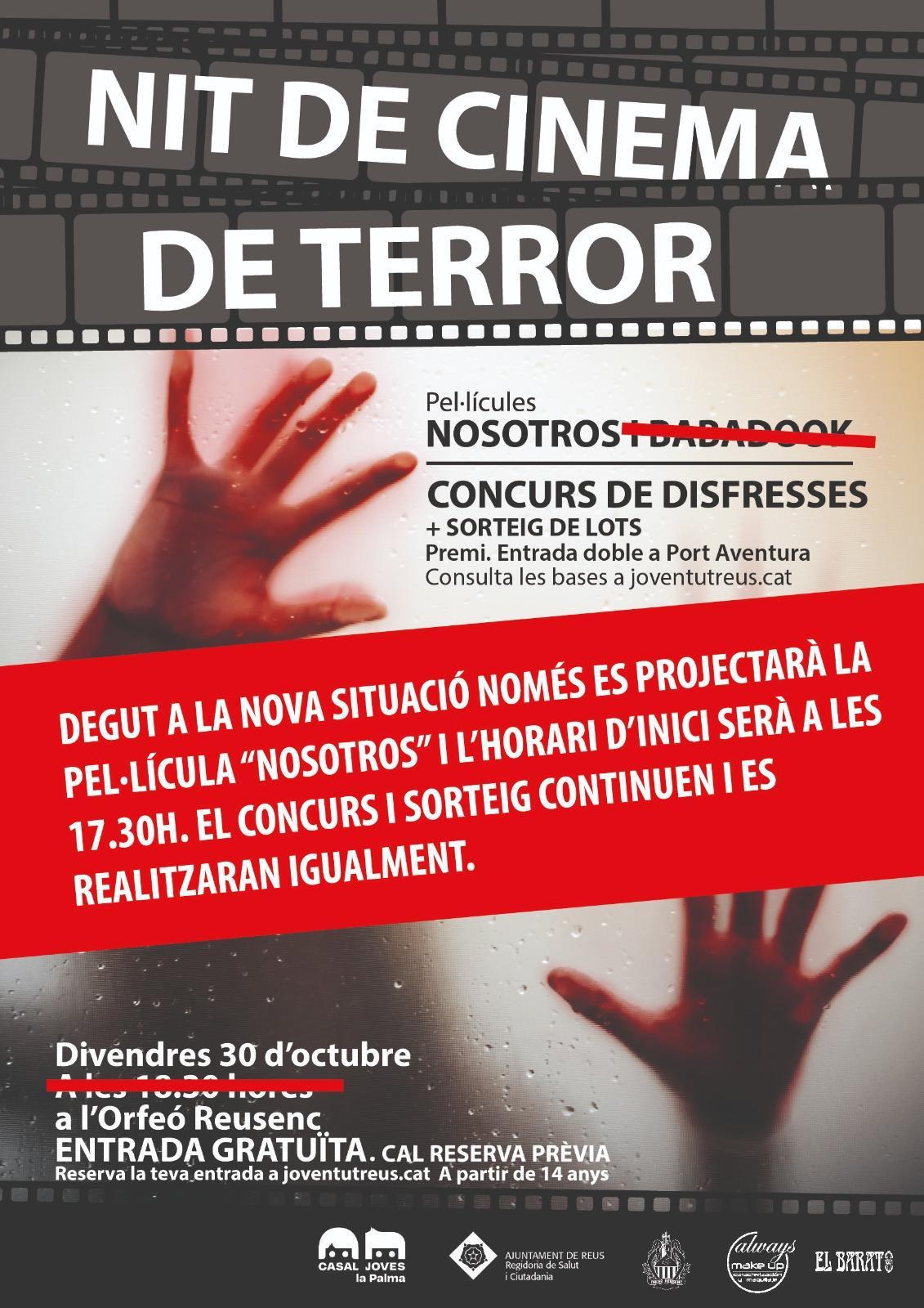 Nit de cinema de terror