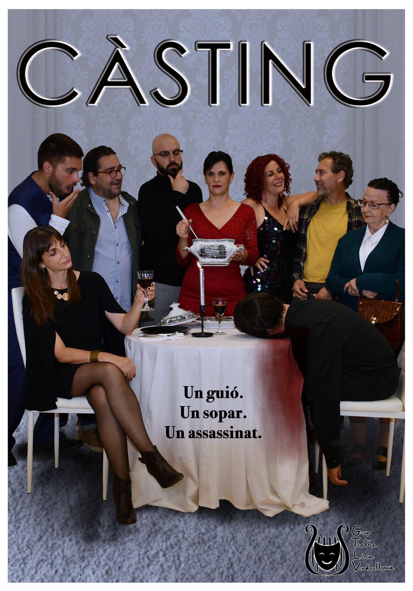 CASTING, a càrrec de la companyia LA LIRA VENDRALLENCAE
