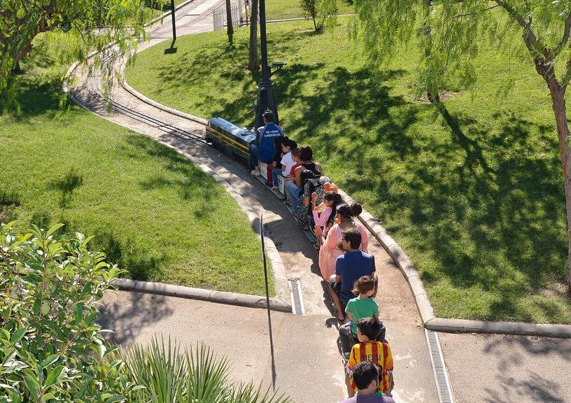 Viatges amb trenet de 5 polzades per a xiquets i grans