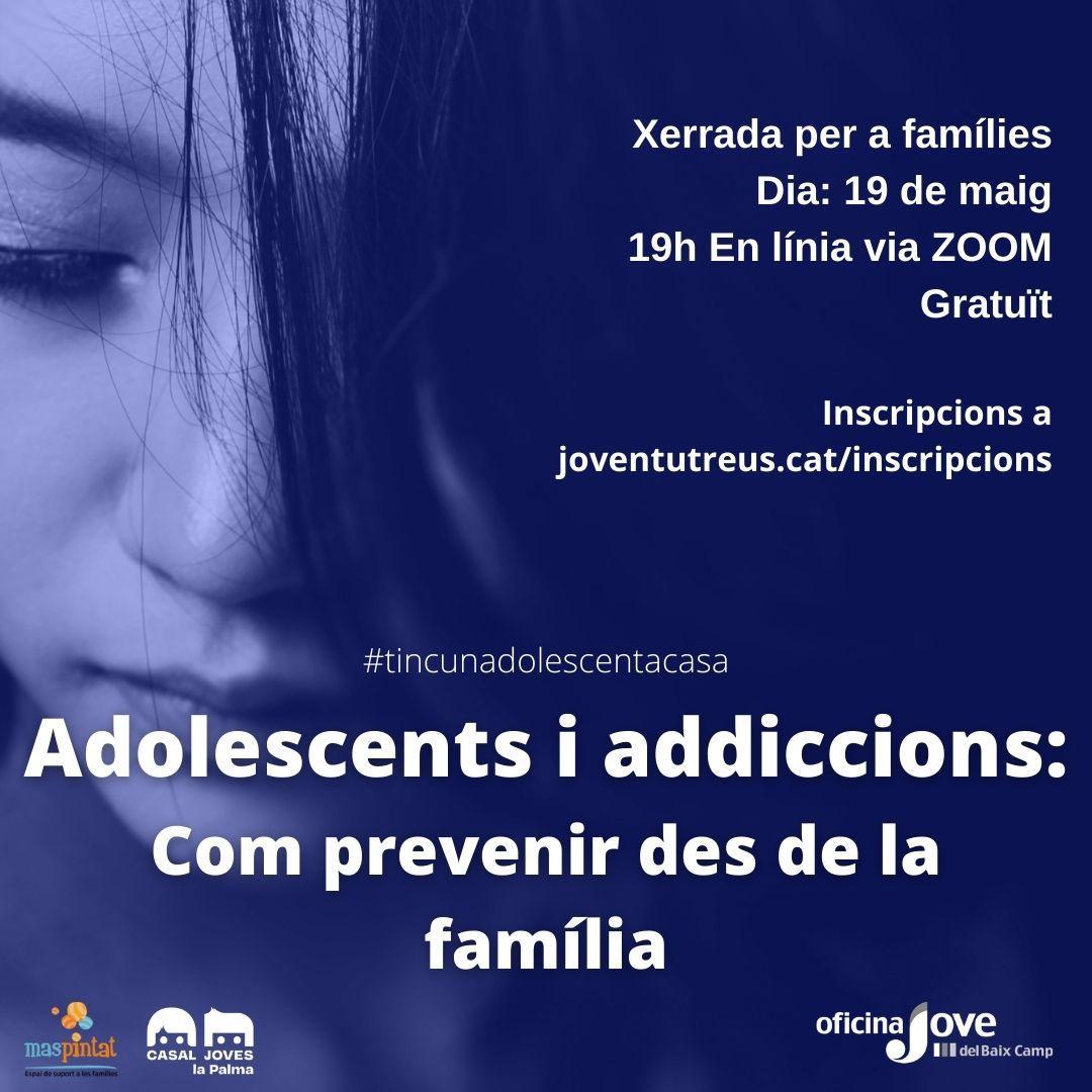 Adolescents i addiccions: com prevenir des de la família