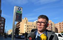 El regidor d'Urbanisme i president de Reus Mobilitat i Serveis, Marc Arza, a la roda de premsa