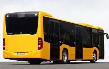 Una imatge exterior del nou model d'autobús de Reus Transport