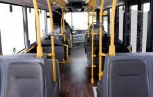 Una imatge interior del nou model d'autobús de Reus Transport