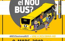 Cartell jornada presentació nous busos Reus Transport 2019
