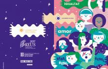Portada del programa d'actes a Reus amb motiu del 8 de març