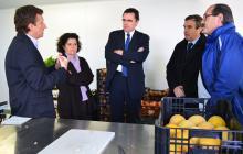 Visita del director de l'Agència de Residus a les instal·lacions del Taller Baix Camp.