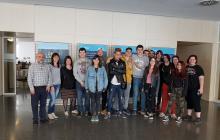 Alumnes del Curs de formació ocupacional Mas Carandell