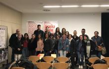 Visita els alumnes de l'IES Baix Camp