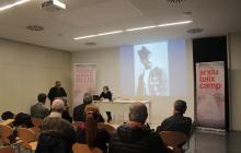 Eulàlia Jardí presentant la seva conferència
