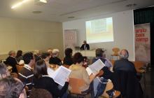I Jornades d'Arxius, Recerca i Difusió. Classe pràctica de paleografia a càrrec del Dr. Piñol
