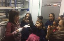 Visita dels alumnes de 1r de l'escola Sant Josep