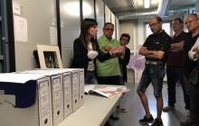 Visita guiada a les instal·lacions de l'Arxiu