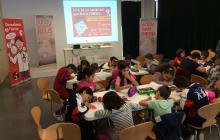 Visita de l'escola Rubió i Ors
