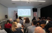 Presentació de l'ESAGED a càrrec d'Anahí Casadesús
