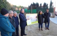 Imatge presentació millores barranc de l'Escorial barri Montserrat pressupostos participatius
