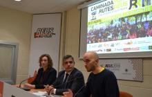 D'esquerra a dreta: Anna Castillo, Jordi Cervera i Joan Miró Blanch
