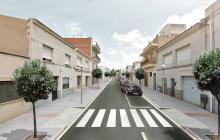 Imatge virtual del projecte de reforma del carrer Amirall Requesens