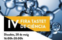 Cartell 4ª Fira Tastet de Ciència Reus Capital Cultura Catalana 2017
